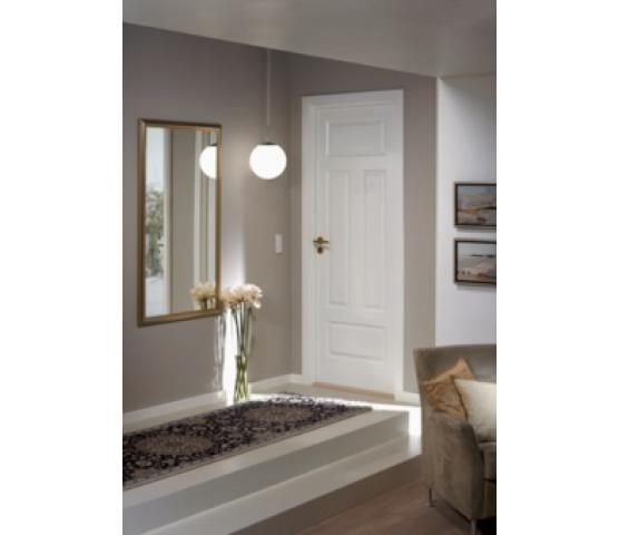 Swedoor Style formpresset innerdør, 4 speil