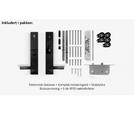 ID Lock 150. Elektronisk kodelås - Grå