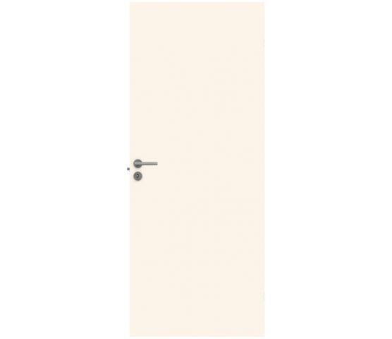 Swedoor Stable massiv innerdør hvit bomull