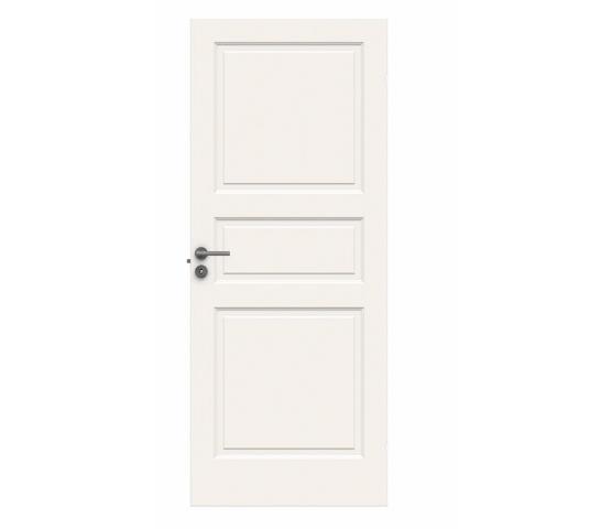 Swedoor Style Formpresset Innerdør, 3 speil, hvit