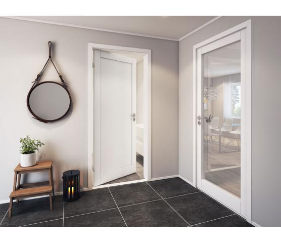 Scanflex dørblad Trend 1 hvit